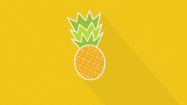 Ananas- wallpaper [4K or Full HD] by MilosKukic