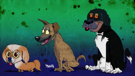 Teff Dogs by Makinita