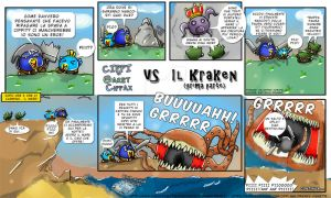 Tales of Cippannara: Cippi and Cippax vs KRAKEN p1 by VictorHoreau