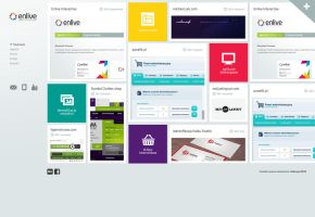 Enlive interactive agency by PapciuZiom