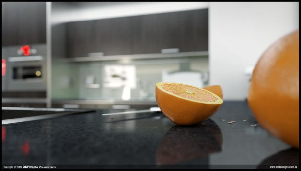 D Kitchen - Close up 01 by diegoreales