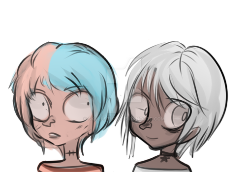 Candy babe And Mashmallow white by SkullStudy