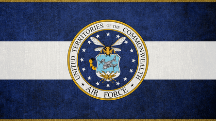 FALLOUT: Flag of the UTC Air Force by okiir