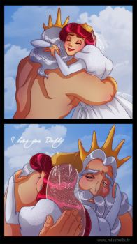 Father and Daughter by HollyBell