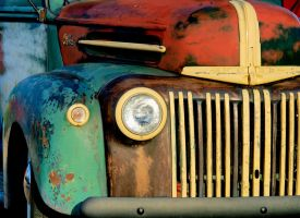 Aged Ford by Swanee3
