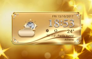 Gold Style Widget for xwidget by Jimking