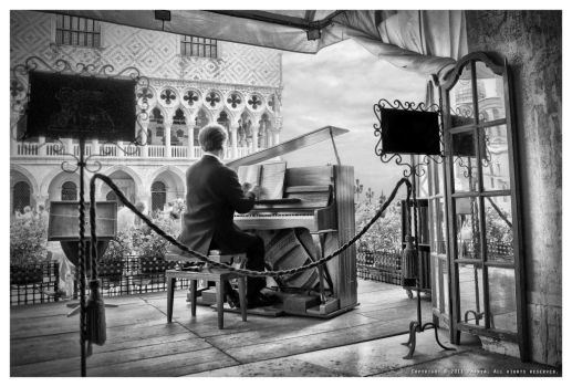 The Piano Man by Pmania