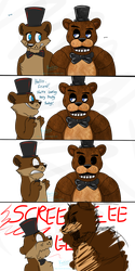 FNaF - Fanon V.S. Canon by Koili