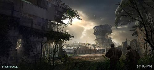 Titanfall Concept Design by JamesPaick