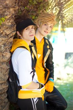 Spark and Go Cosplay ~ Pokemon GO ~ Team Instinct by Yamato-Leaphere