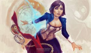 Bioshock Infinite by solidgrafi