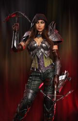 Diablo 3 Demon Hunter Cosplay - Discipline by ApotheosisCosplay