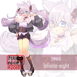 Wolfy Adoptable [Auction CLOSED] by fuanteinaa
