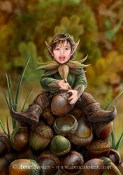 Acorn pixie by Ironshod