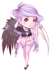 Commission - Becky Lock - Chibi by Chiichanny