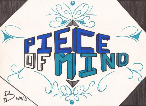 Piece Of Mind by raindroppup