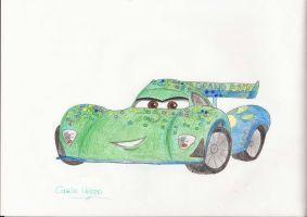 Cars 2: Carla Veloso by EffieQuisquilla
