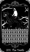 [Creepypasta Tarot Card] Jeff as The Death by thuyduong98