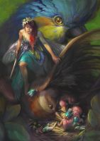 Fairies of Paradise by MagdaPROski