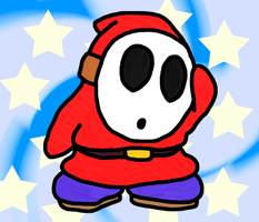 Shy Guy by KatLime
