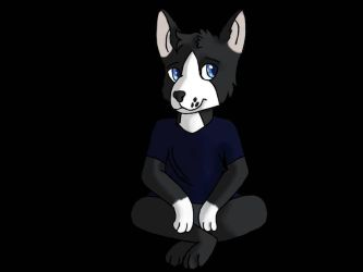 he sit by ShadeTheLucario