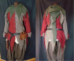 Medieval jester outfit by Ulltotten