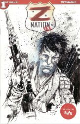 Z Nation sketch cover by Panagiotis Vlamis by weaselpa