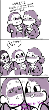 what are you trying to hide burr? - comic by stariitea