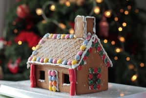 Gingerbread house by Fran-photo