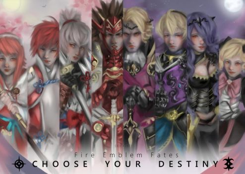 Choose your Destiny by SnipSnipArt