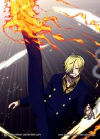 Commission: Sanji (One Piece) by Deyvidson