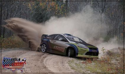Team USA - Ford Focus WTB 2010 by chopperkid44