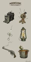 Moonshine mysteries props batch 01 by wavenwater