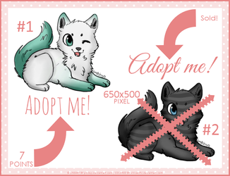 Cute Adopts #1 - [OPEN] by Shivatific