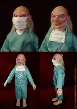 Dr. Satan Doll Collage by dreggs88