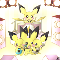 Pichu and the pichus by PKM-150