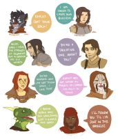 Friends from Skyrim by WolfRocket