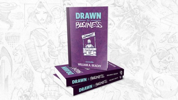 Drawn to Business book by gomedia