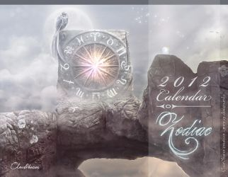 Zodiac Calendar 2012 by clair0bscur