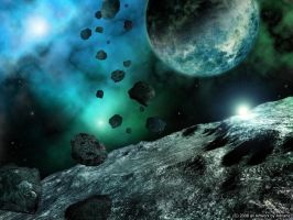 Asteroids by Lairis77