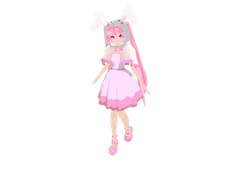 Easter Gift - DT Bunny Miku Download by megpoid625