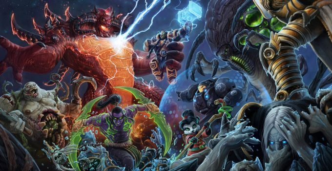 Heroes of the Storm: Into the Nexus by chimeraic