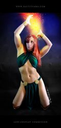 Jade Wizard Cosplay Commission 04 by Bastetsama-Cosplay