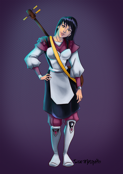 Dorytha the Maid for Pathfinders II by AndronicusVII