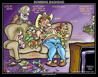BOMBING BAGHDAD by glogauer