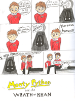 Monty Python and Star Trek II by BalanceSplashRhyme