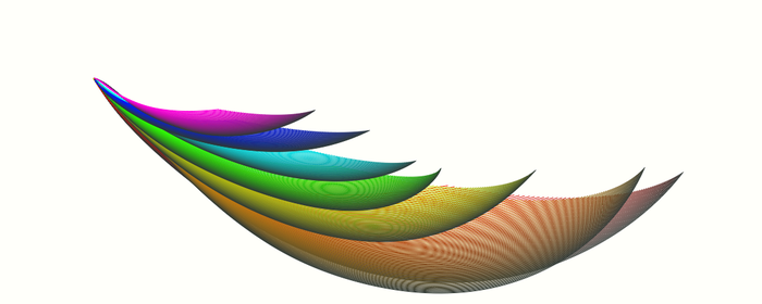 wing of the rainbow bird by woodgolem72