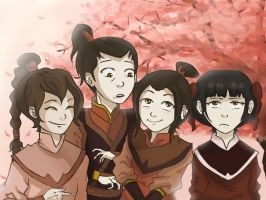 Fire Nation Kids by Jabberwockyface