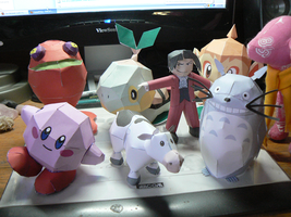 My Papercraft Collection by Evadine