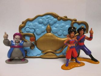 OUAT Aladdin TV Series PVCs by thetrappedartist
